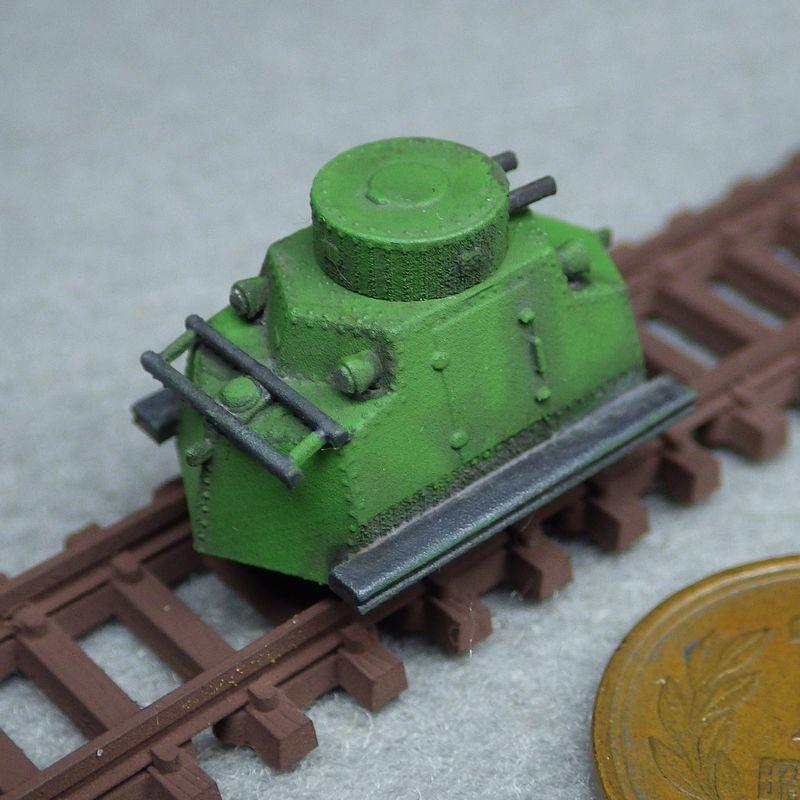 1/144 タトラT-18装甲トロッコ