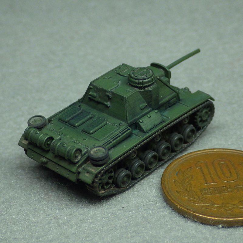 1/144 SU-76i自走砲 指揮車型