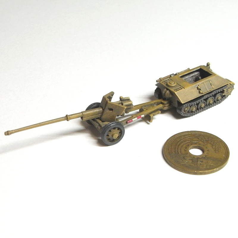 1/144 88mm対戦車砲 Pak 43/41(装甲トラクターセット)
