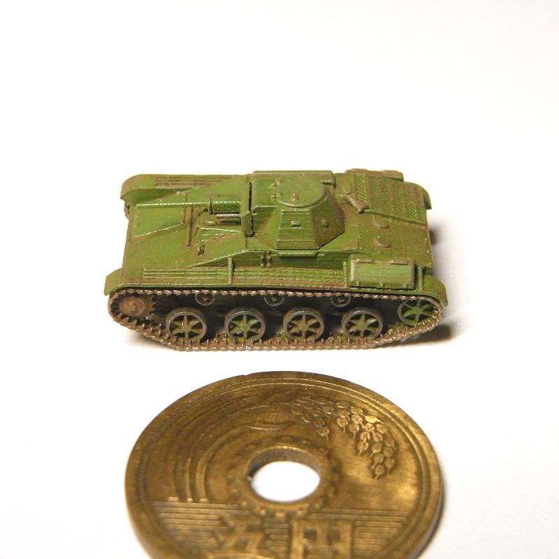1/144 T-60軽戦車