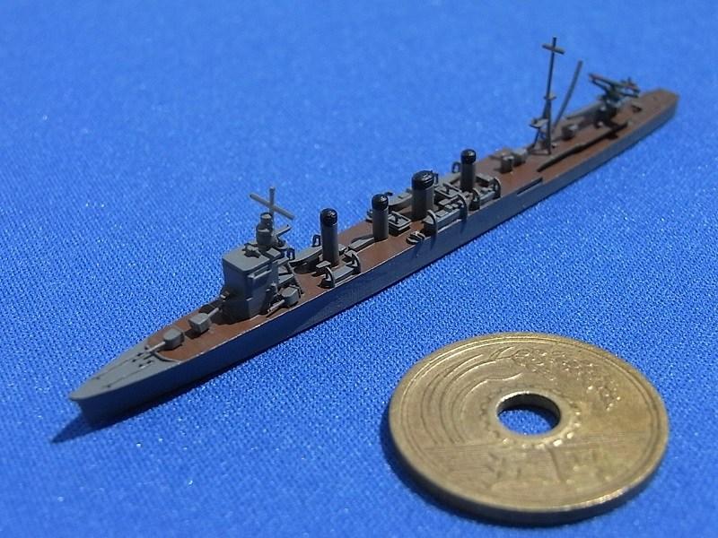 1/2000 軽巡洋艦 神通(UVレジン版)