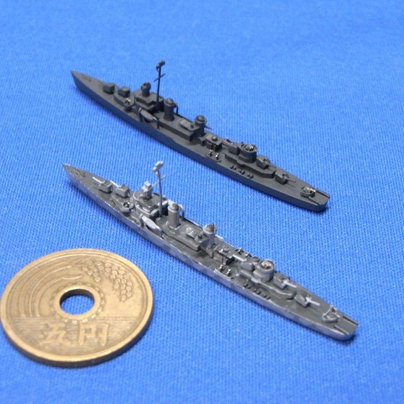 1/2000 フレッチャー級駆逐艦前期型(UVレジン版・2隻セット)