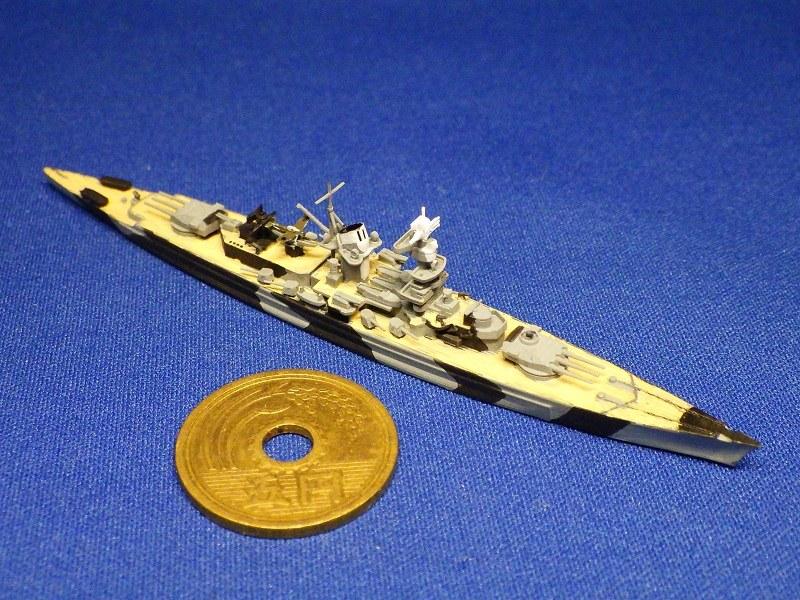 1/2000 装甲艦 アドミラル・シェーア(1942年時)