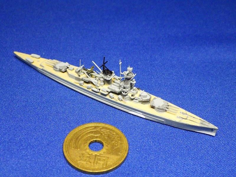 1/2000 装甲艦 アドミラル・グラーフ・シュペー(1939年時)