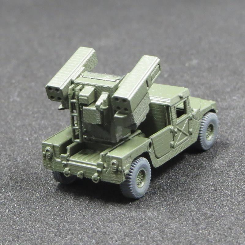 1/144 HMMWV アヴェンジャーシステム搭載車