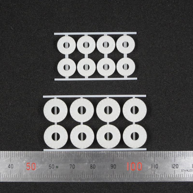 1/144 オフロードトラック用タイヤA(直径9mm)