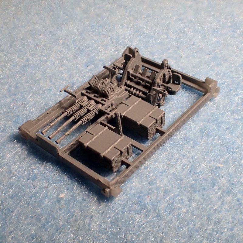 1/144 IJN 九六式25mm三連装機銃セット