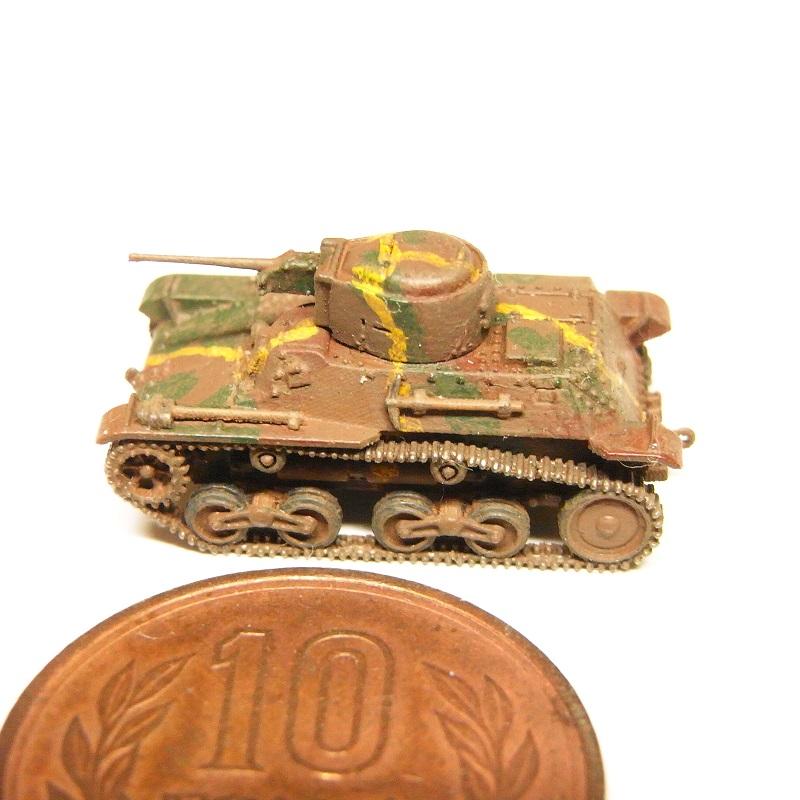 1/144 九七式軽装甲車(テケ)