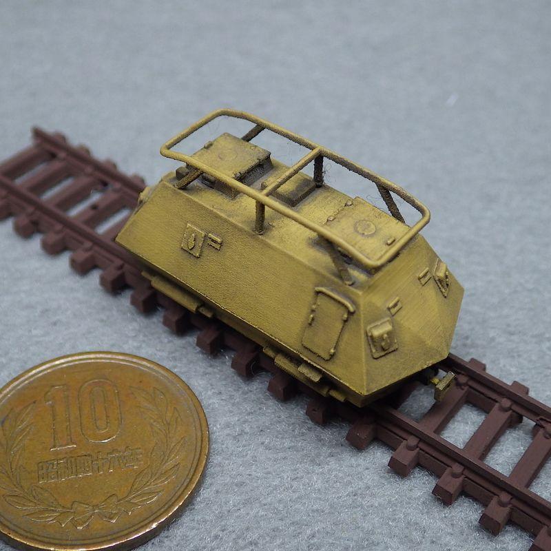 1/144 スタイヤ—K2670軽装甲軌道車(角型ベンチレーター)
