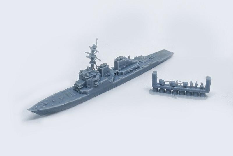 1/2000 アメリカ海軍 アーレイ・バーグ駆逐艦(フライトI)