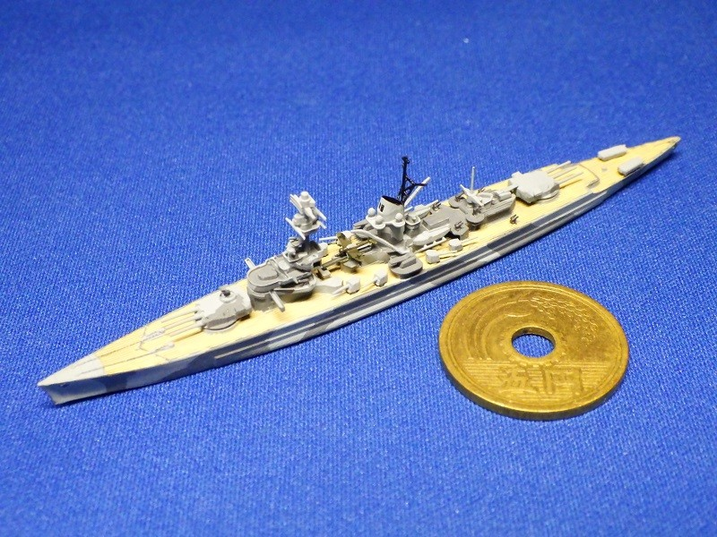 1/2000 装甲艦 リュッツォウ(1942年時)