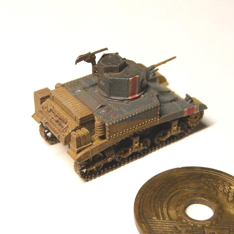 1/144 M3軽戦車スチュアート(初期型)