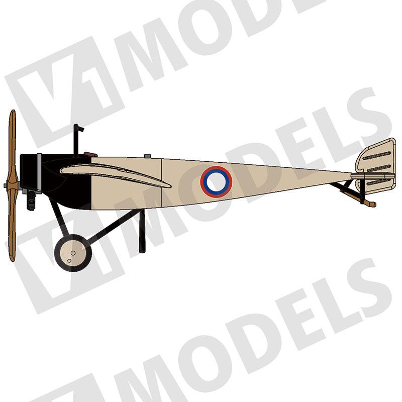 1/144 モラーヌソルニエG (Morane Saulnier G)