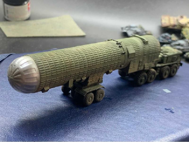 1/144 ABM-1 ガロッシュ地対空弾道弾迎撃ミサイル