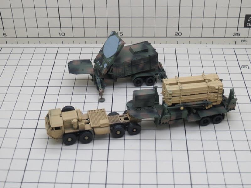 1/144 パトリオットミサイルPAC3 + M983 A4トラクター