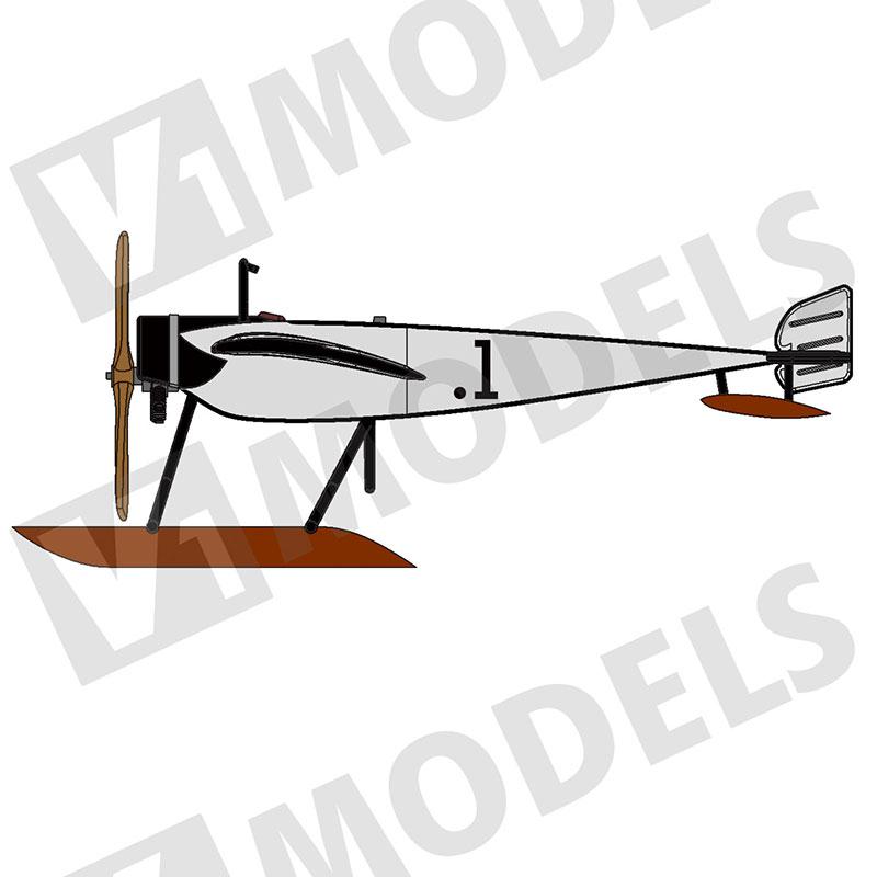 """1/144 モラーヌソルニエG 水上機 (Morane Saulnier G """"Float"""")"""