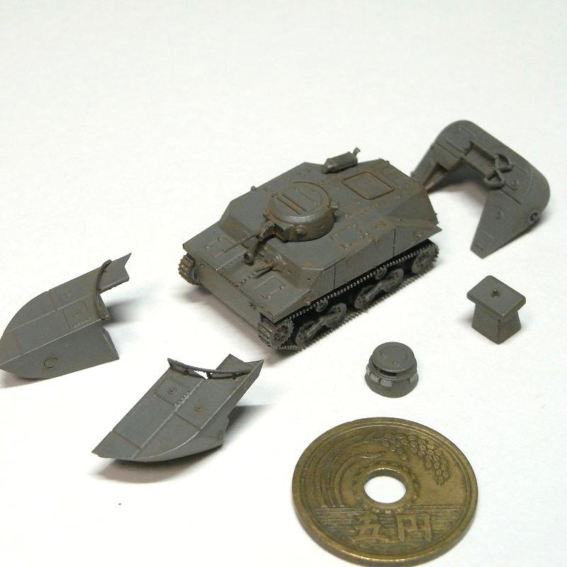 1/144 特二式内火艇カミ(後期型)リメイク版