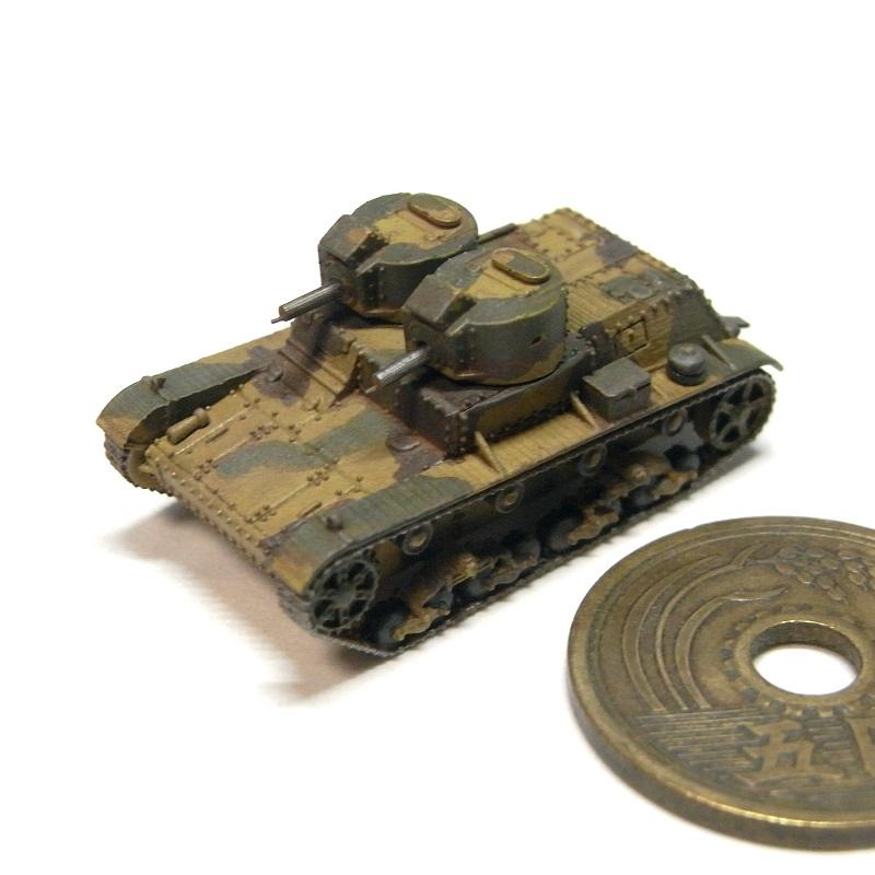 1/144 7TP軽戦車(双砲塔型)