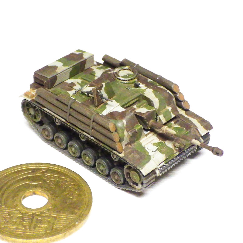 1/144 III号突撃砲G型 フィンランド軍仕様