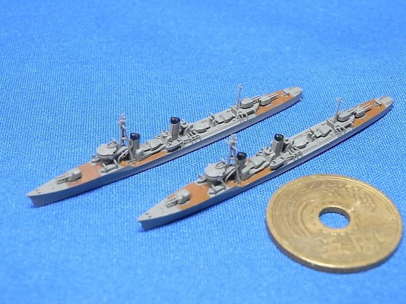 1/2000特型駆逐艦I型(吹雪型)(UVレジン版・2隻セット)