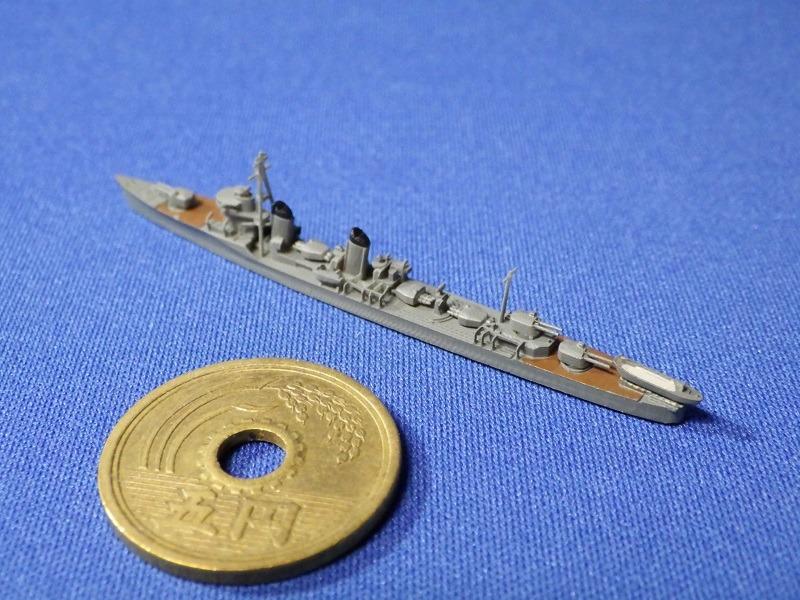1/2000 駆逐艦薄雲・浦波セット
