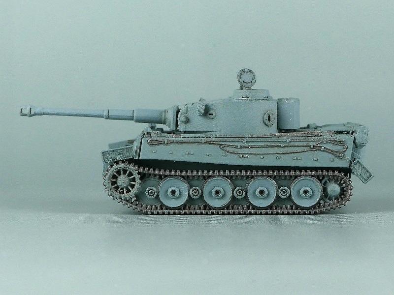 1/144 ティーガー1初期生産型 鉄道輸送用履帯装備
