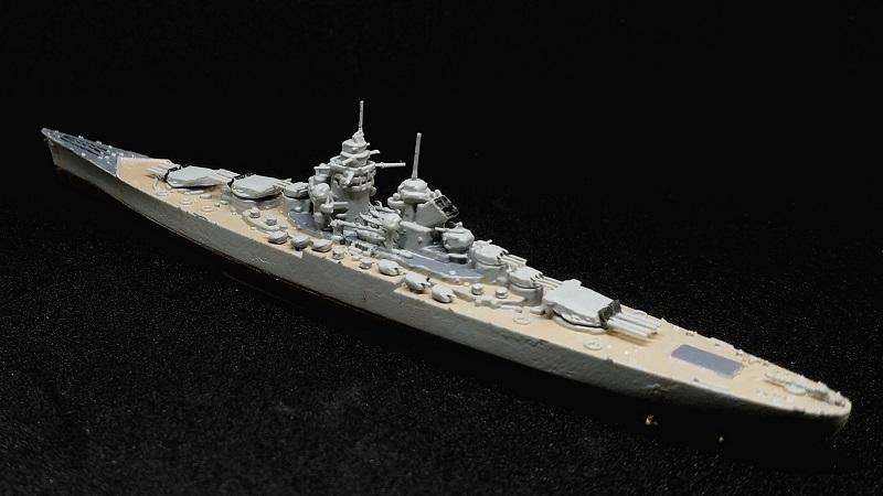 1/2000 フランス海軍 アルザス級戦艦