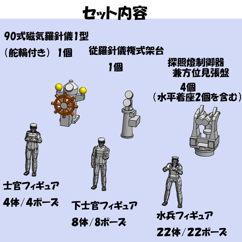 1/350  IJN水兵フィギュア02