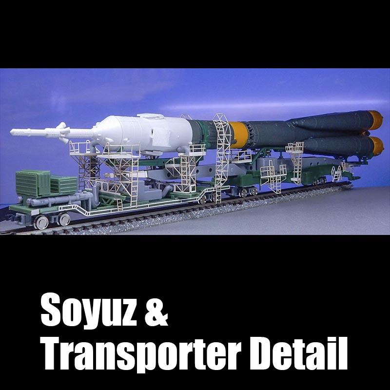 1/150 ソユーズ&トランスポーター ディテールセット