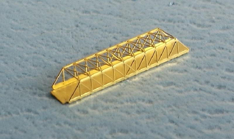 1/2000 鉄路+小型の橋