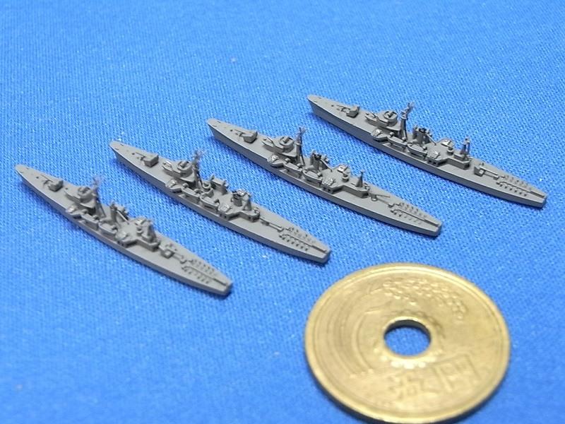 1/2000 丁型海防艦(4隻セット)