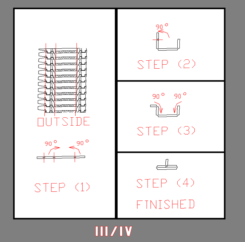 1/144 III号・IV号戦車用履帯エッチングパーツ