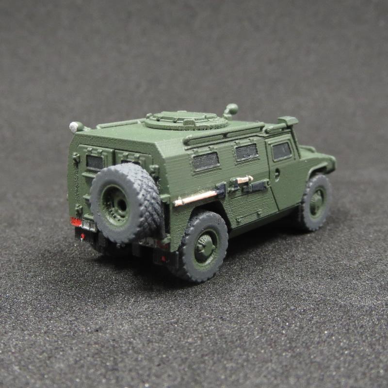 1/144 軽装甲歩兵機動車 GAZ233014 Tigr(ティーグル)