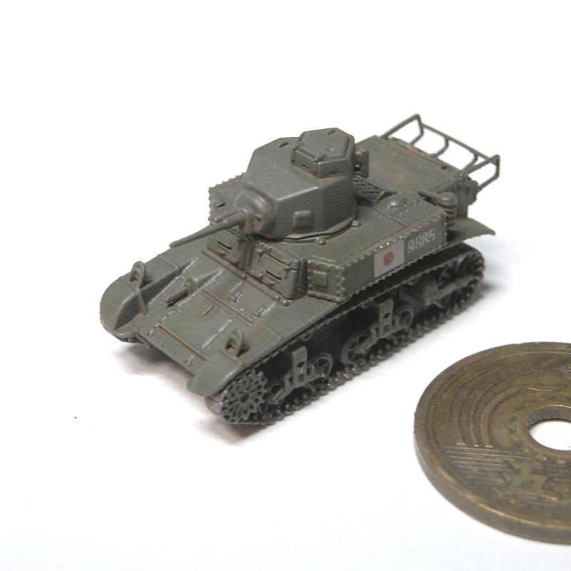 1/144 M3軽戦車 日本軍鹵獲仕様