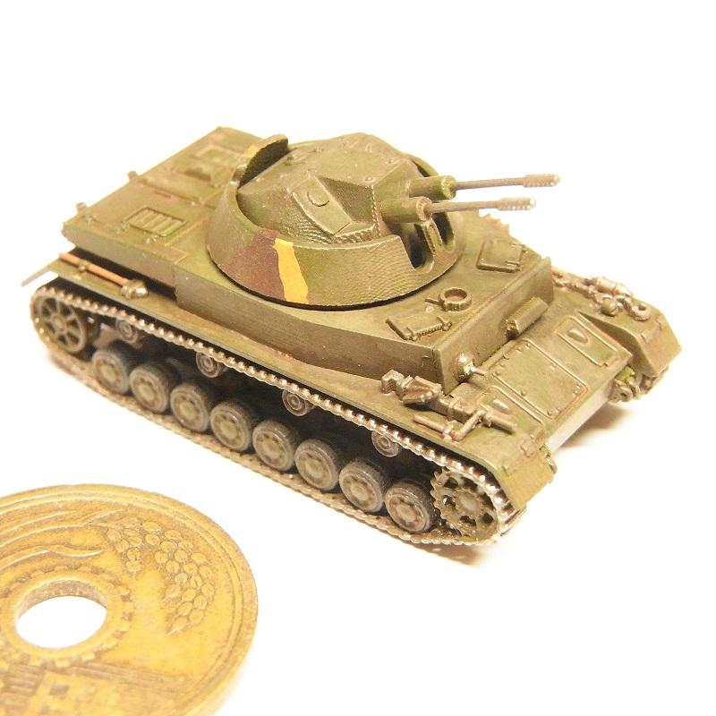 1/144 対空戦車クーゲルブリッツ(リメイク版)(Flakpanzer IV Kugelblitz)