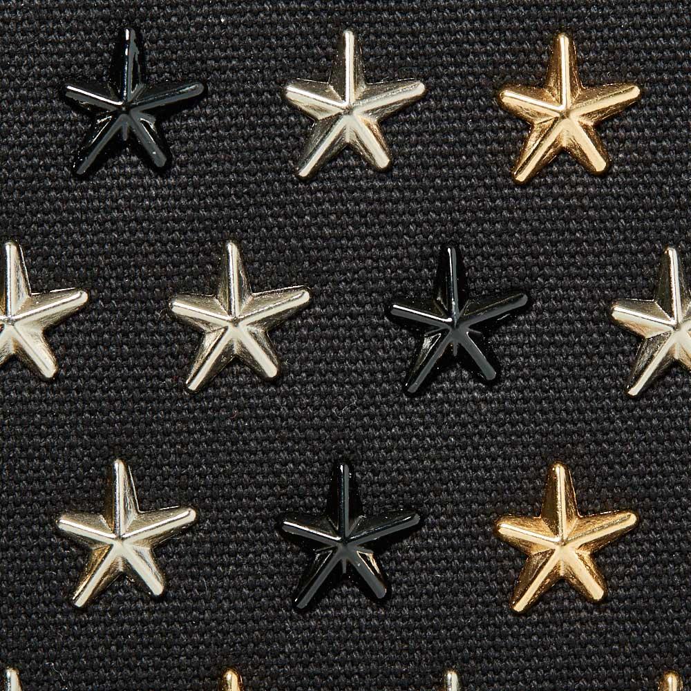 『スタンダード モデル』 星スタッズトートバッグ 【Sサイズ】 BLACK×MIX