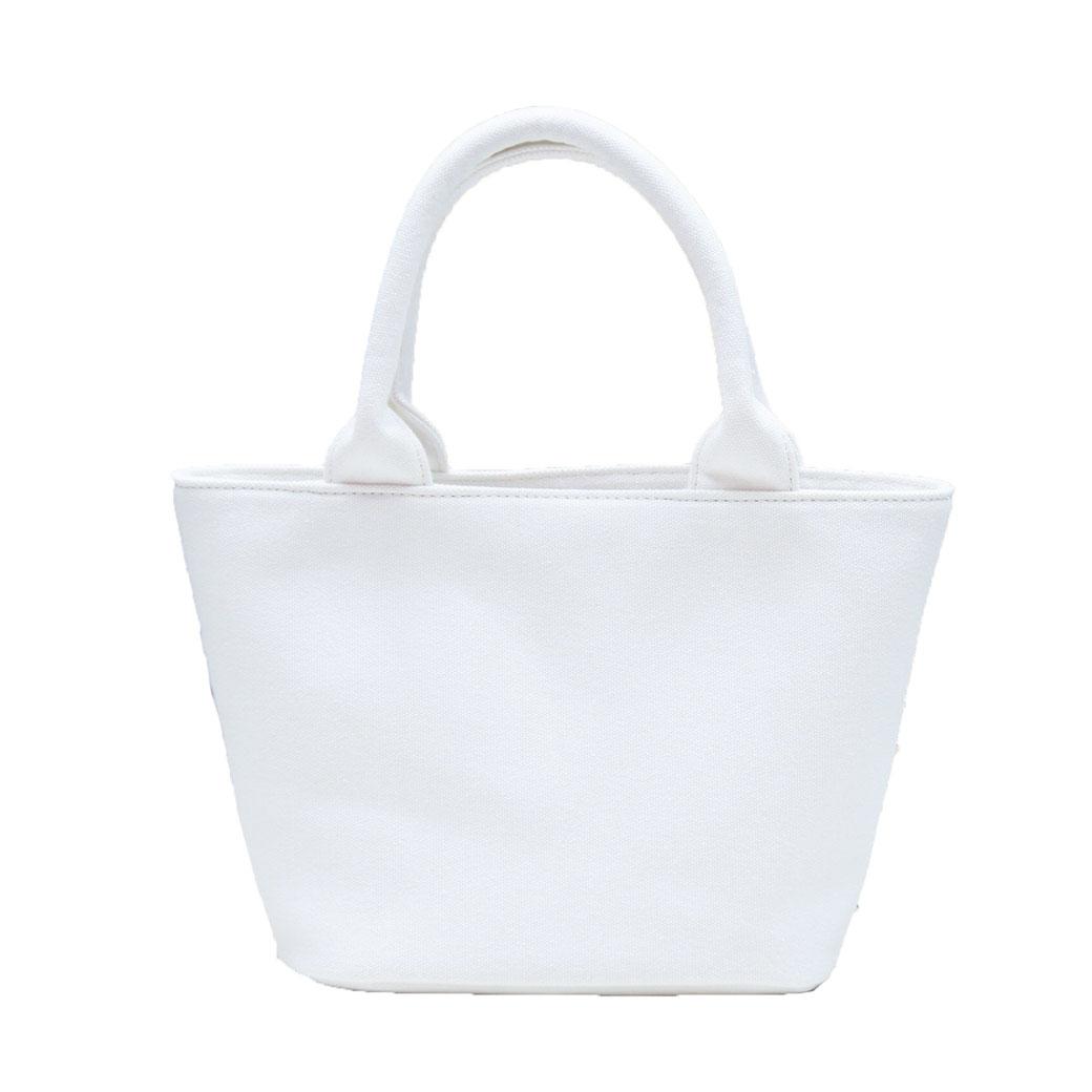 『ライトウェイト モデル』 スタッズトートバッグ 【Sサイズ】 WHITE×MIX とげとげスタッズ