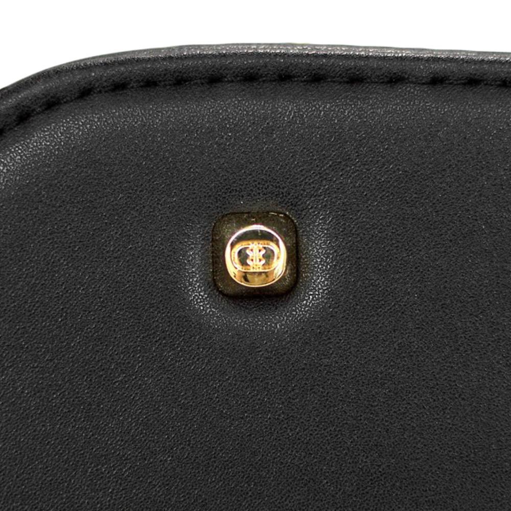 『スタンダード モデル』レザースタッズトートバッグ 【Sサイズ】 BLACK×BLACK 星スタッズ