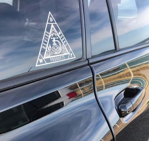 カッティングシール:三角