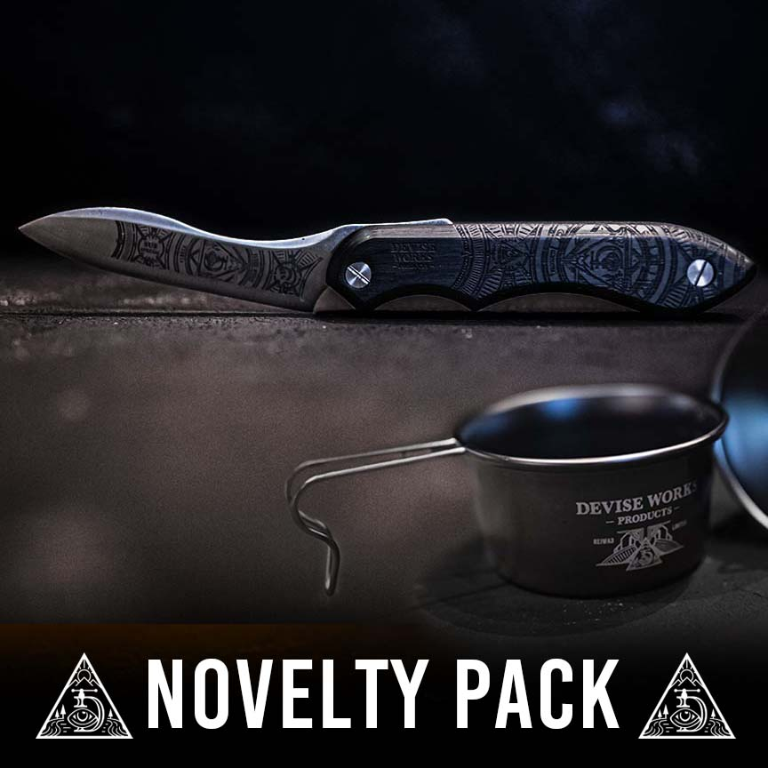 ナイフ&サイドグラフィックシェラ ノベルティパック
