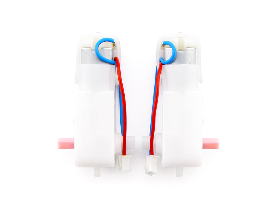 ロボットキット保守パーツ TTモーター(48:1)セット