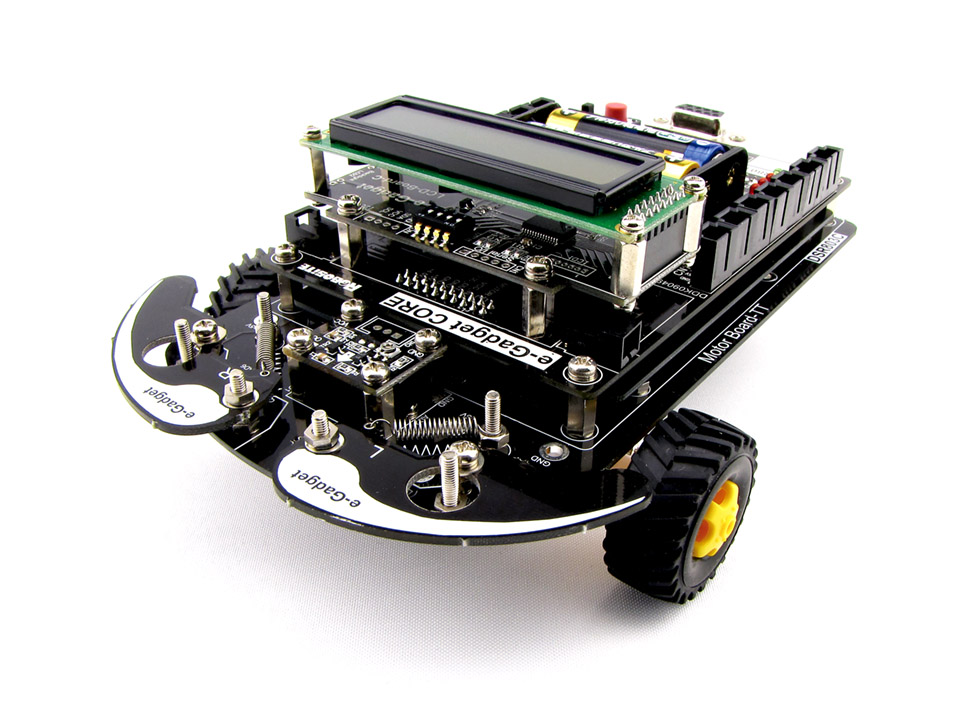 ロボットプログラミングキット e-Gadget-TT