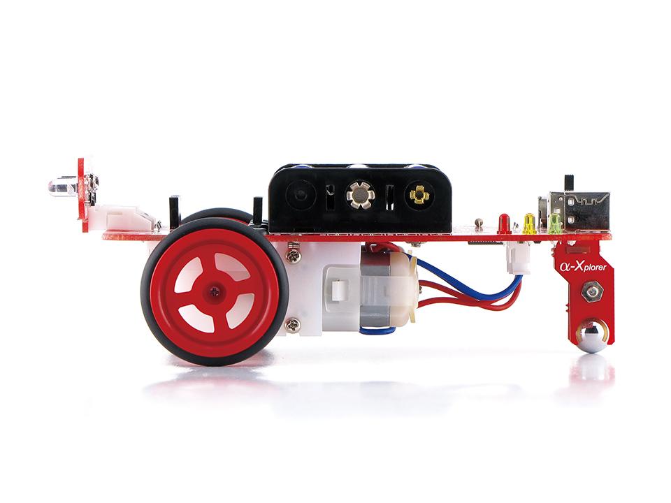 ロボットプログラミングキット α-Xplorer