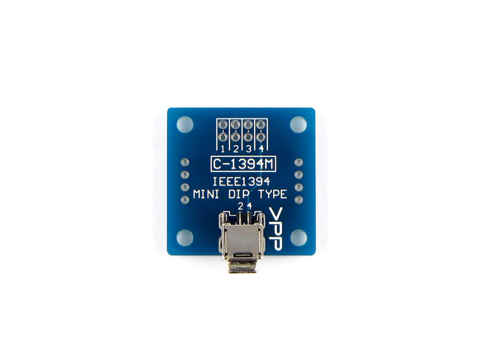 IEEE1394ミニ変換基板
