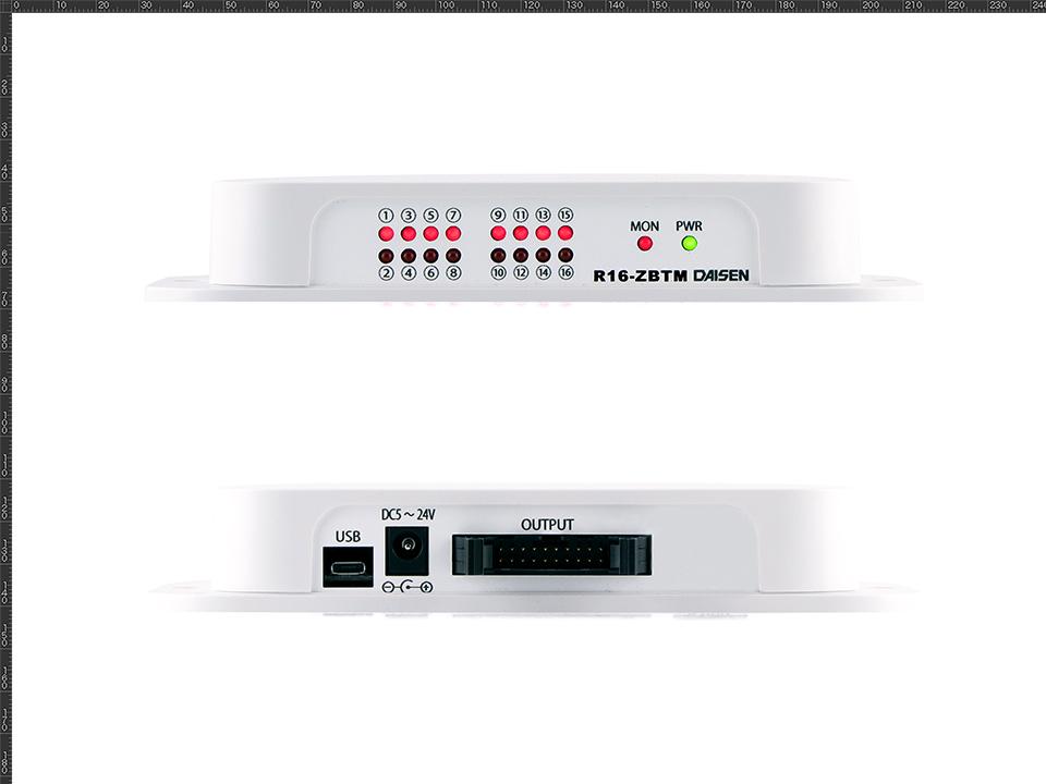 16点オープンコレクタ出力2.4GHz帯無線受信機