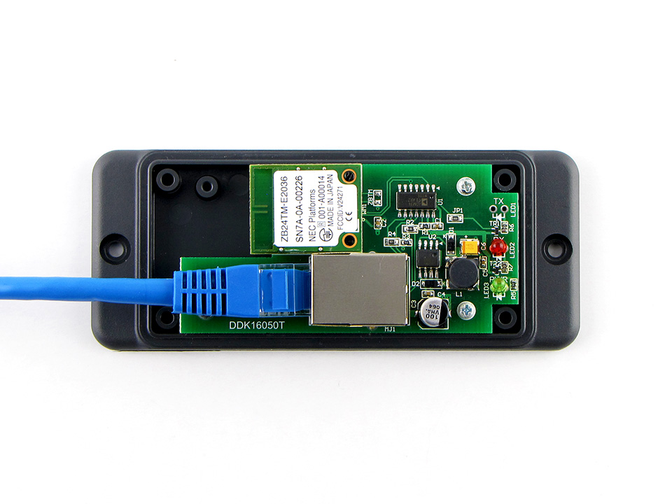 16点オープンコレクタ出力2.4GHz帯無線受信機外部ユニットセット