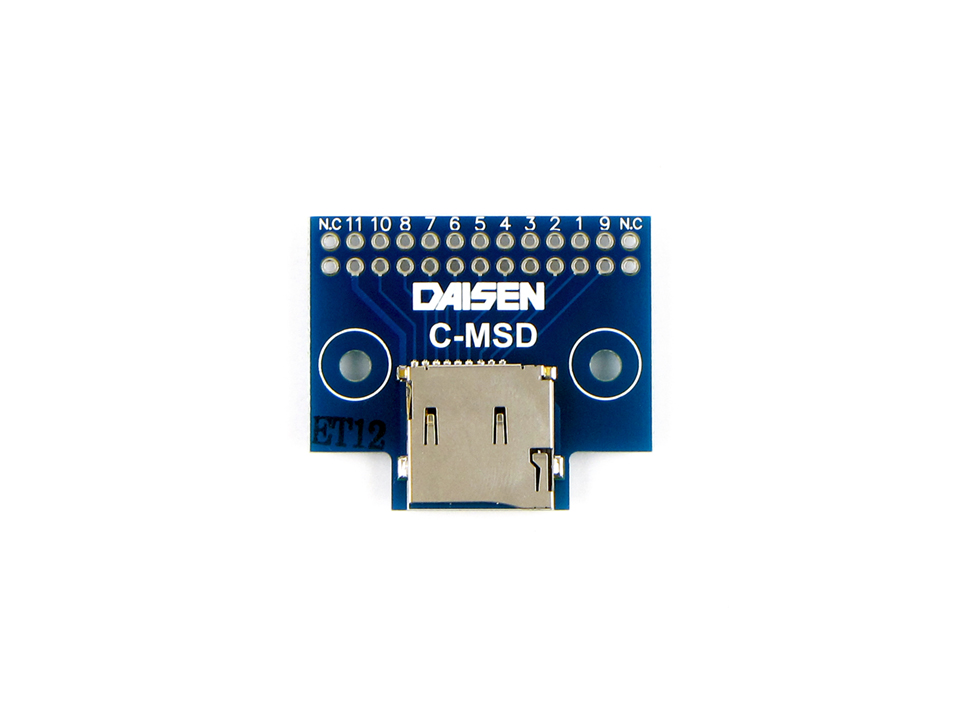 MicroSDカード変換基板