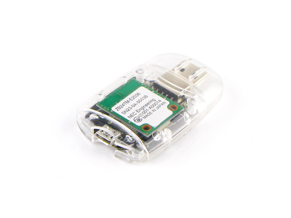 2.4GHz帯無線モジュール付USBドングル