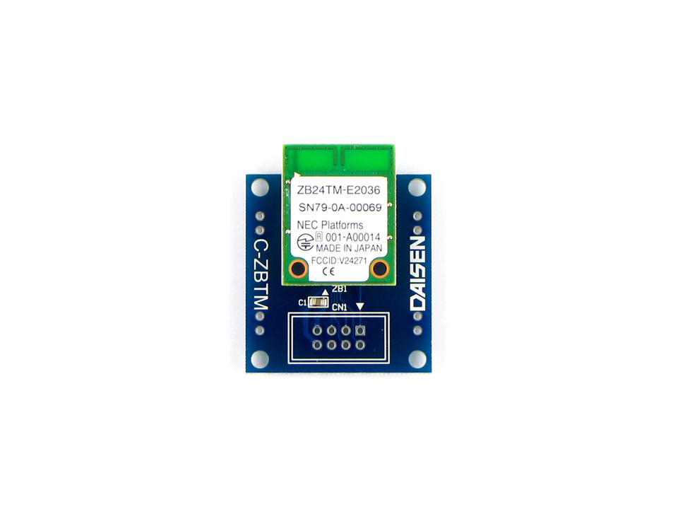 2.4GHz帯無線モジュール付変換基板