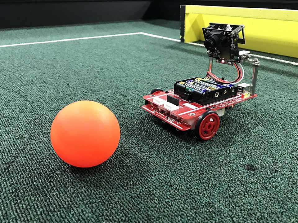 RoboCupJunior公式パッシブボール